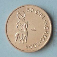 Монеты и банкноты №27 – 50 эре Норвегия