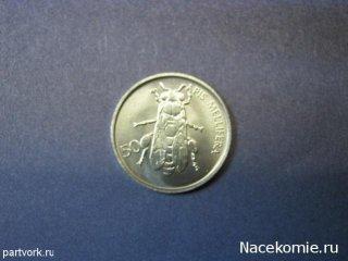Монеты и банкноты №42 – 50 стотин (Словения)
