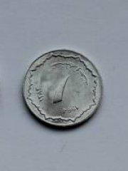 Монеты и Банкноты №46 – 1 сентим Алжир