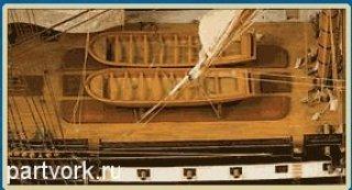 Двенадцать Апостолов Детали модели корабля