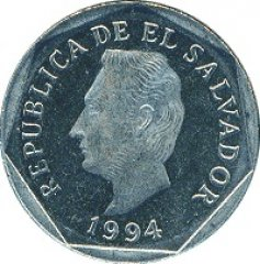 Монеты и Банкноты №51 – 5 сентаво Сальвадор