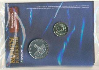Монеты и банкноты №12 (1 песо Аргентины, 1 цент Кипра)