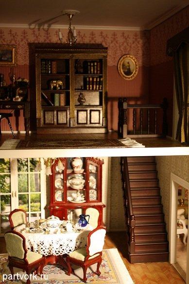 Мечты 55 лестница и столовые приборы