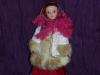 Куклы в народных костюмах №1 Кукла в зимнем костюме Московской губернии
